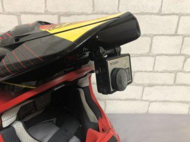 オフロードヘルメットでモトブログ動画撮影の仕方|デコマウントでマイクも取り付け【GoPro】